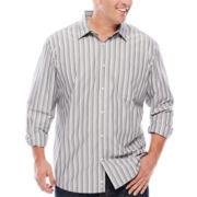 Claiborne® Long-Sleeve Woven Shirt - Big & Tall