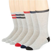 Levi's® Mens 6-pk. Crew Socks
