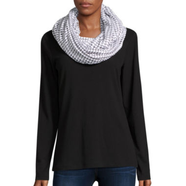 jcpenney.com | Big Buddha Scarf Hole Punched Infinity