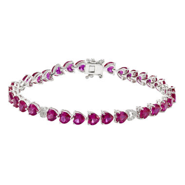 jcpenney.com | Lab-Created Red Ruby Tennis Bracelet