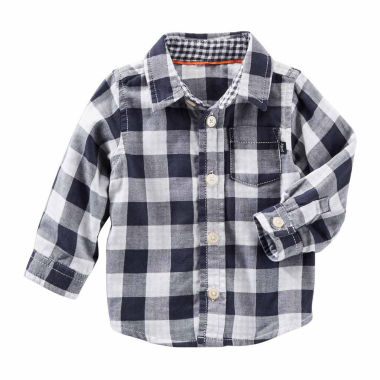 jcpenney.com | Oshkosh Long Sleeve Button Down- Baby