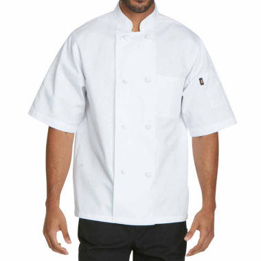 jcpenney.com | Dickies Unisex Short Sleeve Classic Knot Button Chef Coat - Big