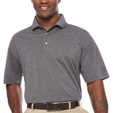 jcpenney.com | PGA Tour Short Sleeve Solid Jersey Polo Shirt Big and Tall