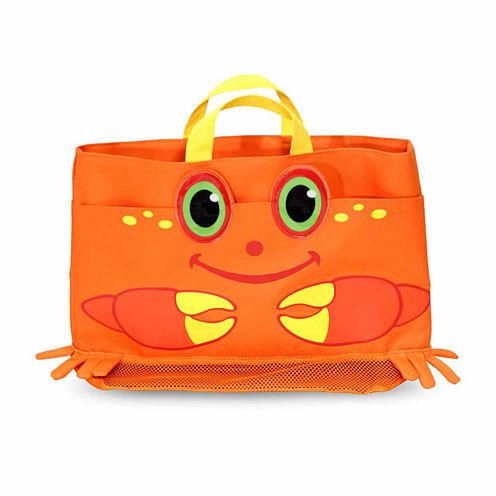 Melissa & Doug® Clicker Crab Beach Tote Bag