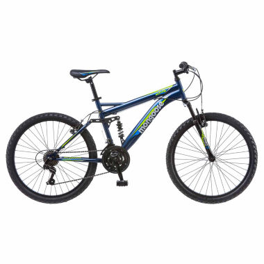 "jcpenney.com | Mongoose Griffin 24"" Boys Full Suspension Mountain Bike"