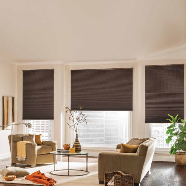 "jcpenney.com | Bali® Custom Legacy Cordless Blackout ⅜"" Cellular Shade"