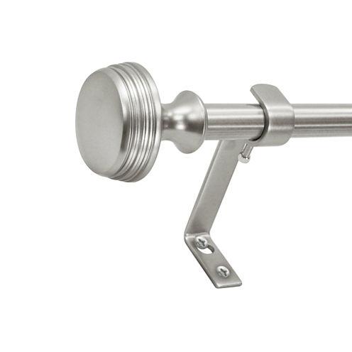 Montevilla Core Knob 5/8 In Single Curtain Rod