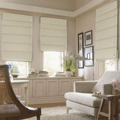 Roman shades jcpenney home savannah shade for 9 ft wide living room