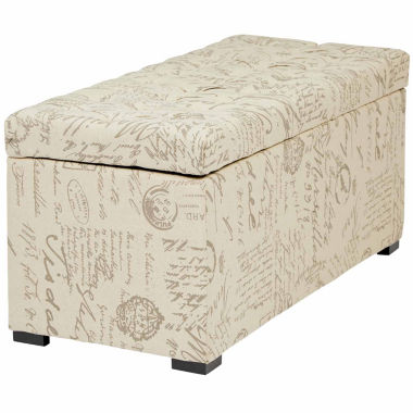jcpenney.com | Sahara Tufted Storage Bench