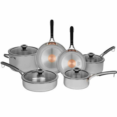 jcpenney.com | Revere 10-pc. Stainless Steel Cookware Set