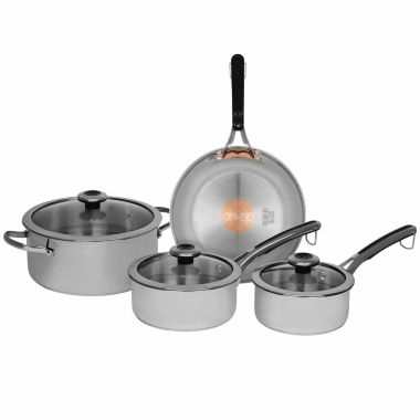 jcpenney.com | Revere Copper Confidence Core 7-pc. Stainless Steel Cookware Set