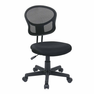 jcpenney.com | Mesh Task Office Chair with Fabric Seat