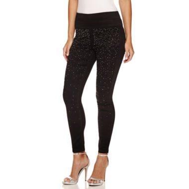 jcpenney.com | Bisou Bisou Rhinestone Stack Pant