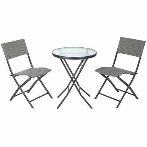 Glen 3-pc. Round Table and Chairs