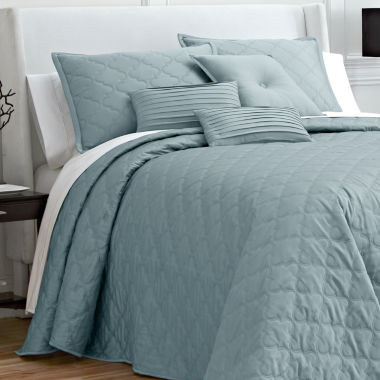 jcpenney.com | Royal Velvet® Ogee Bedspread & Accessories