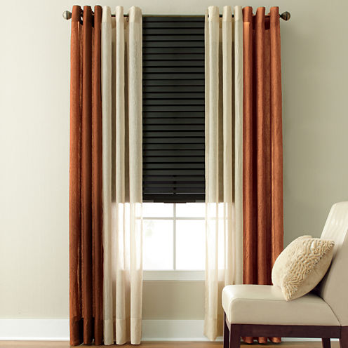 Studio  Peyton Grommet Top Sheer Panel. Home Store Clearance  Furniture  Curtains   Dinnerware