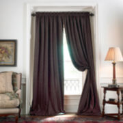 American Living Estate Taffeta Damask Rod-Pocket Curtain Panel