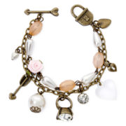 Messages from the Heart® by Sandra Magsamen® Ring Charm Bracelet