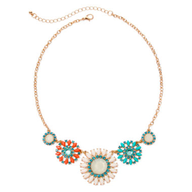 jcpenney.com | Arizona Faceted Floral Necklace