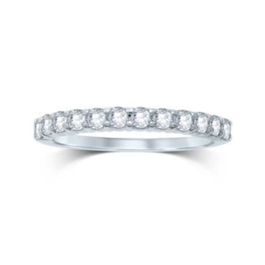 jcpenney.com | 1/2 CT. T.W. Diamond 14K White Gold Band