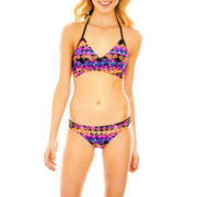 Arizona Bikini Swim Top or Side-Strap Bottoms - Juniors
