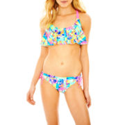 Arizona Flounce Swim Top or Sweet Pea Hipster Bottoms - Juniors