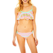 Arizona Flounce Swim Top or Braided Swim Bottoms - Juniors