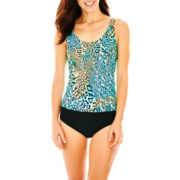 St. John's Bay® Tankini Swim Top or Brief Bottoms