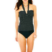 St. John's Bay® Tankini Swim Top or High-Waist Bottoms