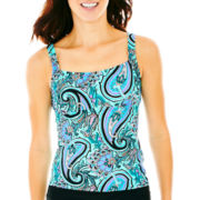 St. John's Bay® Tankini Swim Top