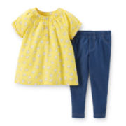 Carter's® Short-Sleeve Top and Jeggings Set – Girls newborn-24m