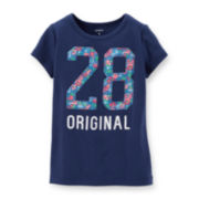 Carter's® Short-Sleeve Original Graphic Tee – Girls 4-6x