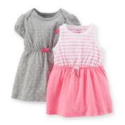 Carter's® 2-pc. Dress Set - Girls newborn-24m