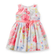Carter's® Floral Easter Dress – Girls newborn-24m