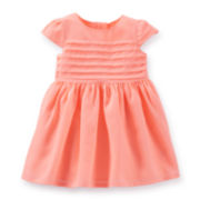 Carter's® Pleated Easter Dress - Girls newborn-24m