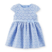 Carter's® Lace Dress - Girls newborn-24m