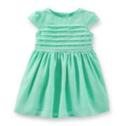 Carter's® Pleated Easter Dress - Girls newborn-24m