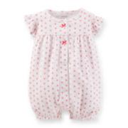 Carter's® Flutter-Sleeve Cherry-Print Creeper – Girls newborn-24m