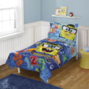 Spongebob 4-pc. Toddler Bedding Set