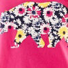 Floral Bear-pink P
