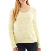 Arizona Long-Sleeve Marled Sweater - Plus