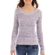 Arizona Long-Sleeve Marled Sweater