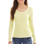 Arizona Long-Sleeve Marled Sweater