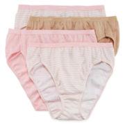 Hanes® 4-pk. Platinum Cotton High-Cut Panties