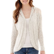 California Gypsy Long-Sleeve Hooded Cardigan