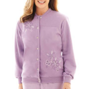 Alfred Dunner® A Fine Romance Floral Embroidered Jacket