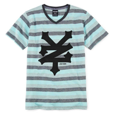 jcpenney.com | Zoo York® Short-Sleeve Striped Knit Tee - Boys 8-20