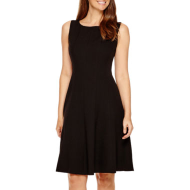 jcpenney.com | Black Label by Evan-Picone Sleeveless Fit & Flare Dress