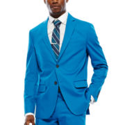 JF J. Ferrar® Mykonos Blue Stretch Sport Coat - Slim Fit