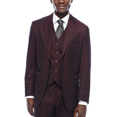 jcpenney.com | Steve Harvey® Merlot Suit Jacket